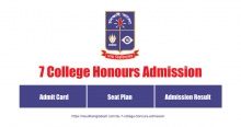 7 College Honours Admission